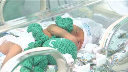 Polvos de crochê ajudam na recuperação de bebês prematuros