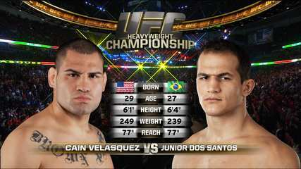 UFC Fight Night - Junior Cigano x Cain Velasquez