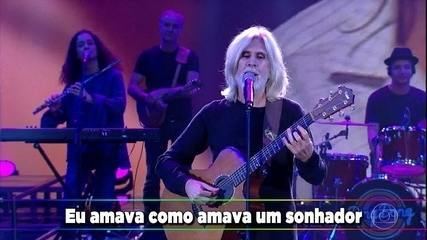 Oswaldo Montenegro canta 'Lua e Flor'
