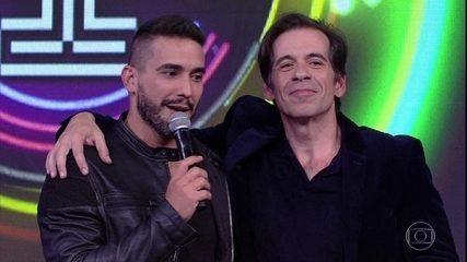 Na quinta rodada André Marques acerta a música, mas Leandro Hassum vence o 'Ding Dong'
