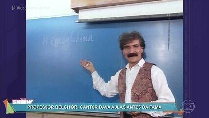 Belchior dava aulas antes da fama