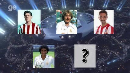 Conheça cinco feras que já jogaram com as camisas de Real e Atlético de Madrid
