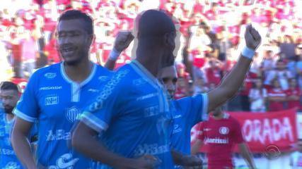 Ernando marcou gol contra na final do Gauchão contra o Novo Hamburgo