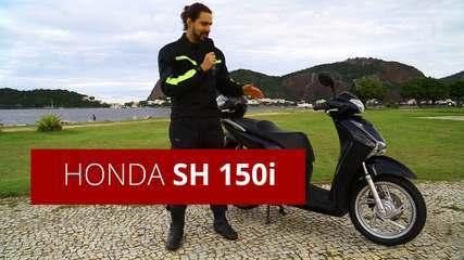 Honda SH 150i: saiba como anda o scooter em vídeo