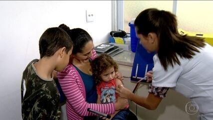 No dia 'D' de vacinação, cento e trinta mil pessoas se vacinaram contra gripe no Rio