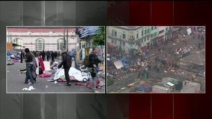 Polícia faz operação na cracolândia, em São Paulo