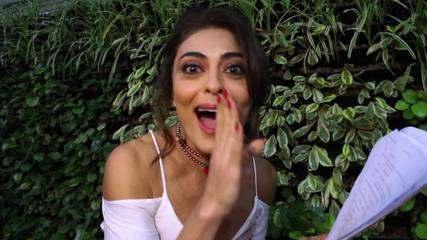 Juliana Paes recebe o roteiro e dá spoiler sobre Bibi e Rubinho