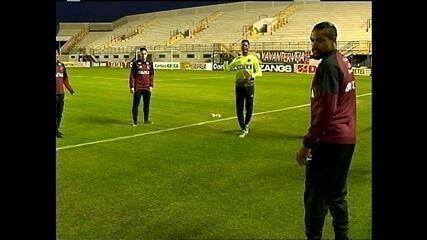 Xavante faz último treino antes do jogo