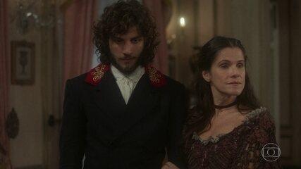 Elvira não deixa Joaquim falar com Anna