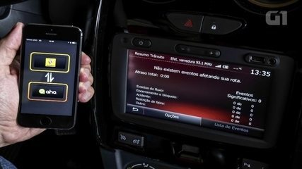 Renault Duster: G1 avalia central multimídia