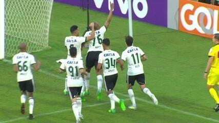 Melhores momentos de Coritiba 1 x 0 Atlético-PR pela 4ª rodada do Brasileirão
