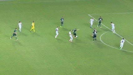 O gol de Espírito Santo 0 x 1 Caldense, pela Série D do Campeonato Brasileiro 2017