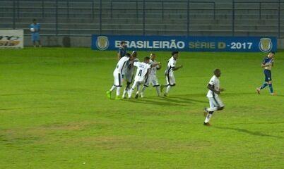 Os gols de Altos 1 x 2 Santos-AP pela terceira rodada da Série D do Brasileiro