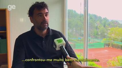 Sergi Bruguera lembra final de Roland Garros contra Gustavo Kuerten