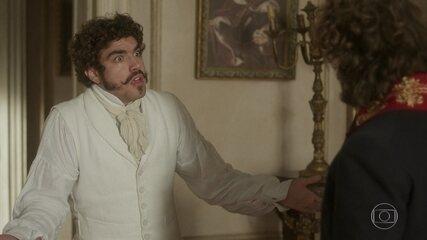 Dom Pedro deu um soco em Joaquim em 'Novo Mundo'
