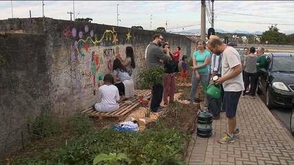 Decreto municipal pode acabar com horta comunitária no bairro Cristo Rei