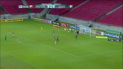 Jarlan marca gol da vitória do Goiás na Série B; confira