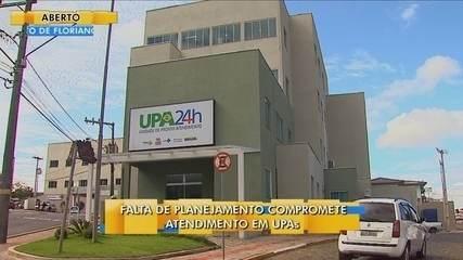 Falta de planejamento compromete atendimento de quatro UPAs no estado; Renato Igor comenta