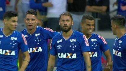 Os gols de Cruzeiro 2x0 Coritiba pela 10ª rodada
