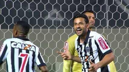 Gol do Atlético-MG! Cazares cruza na medida, e Fred amplia aos 33' do 2º Tempo