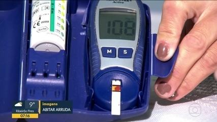 Pacientes com diabetes não encontram insumos nas UBSs da capital