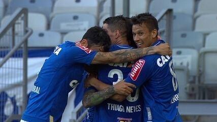 Melhores momentos de Cruzeiro 3 x 1 Palmeiras, pela 12ª rodada do Brasileirão