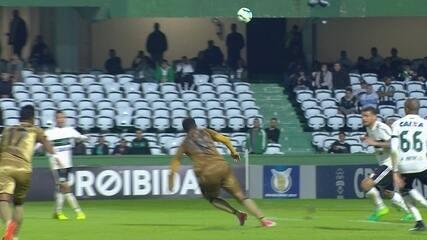 Sport derrotou o Coritiba por 3 a 0 no Couto Pereira