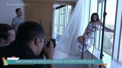 Vanessa Giácomo posa para capa de revista