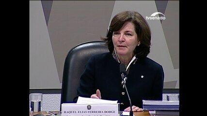 Raquel Dodge fala sobre foro especial por prerrogativa de função em debate no Congresso