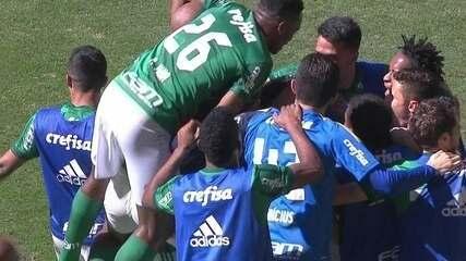 Os gols de Palmeiras 4 x 2 Vitória pela 14ª rodada do Brasileirão