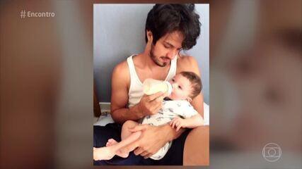 Romulo Estrela fala sobre paternidade
