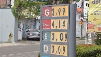 Preço da gasolina sobe R$ 0,40 no Ceará um dia após anúncio de alta no Pis e Confins