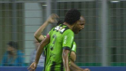 GOL DO AMÉRICA-MG! Messias marca contra o Figueirense
