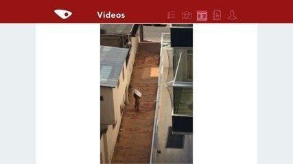 Morador filma ação de assaltante em casa em Guarapari, ES