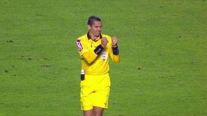 Vibração de árbitro chama atenção em São Paulo x Grêmio