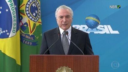 Michel Temer defende apoio ao Carnaval do Rio de Janeiro