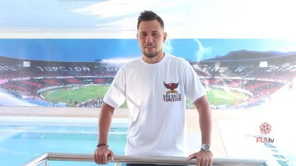 FLA TV - O primeiro dia de Diego Alves no Flamengo