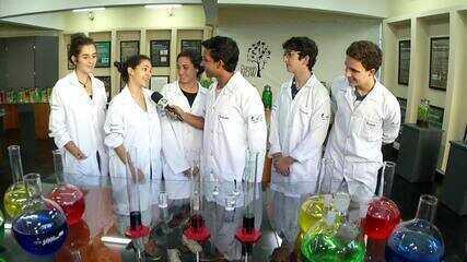 Plugue confere o Museu da Ciência, em Barra Mansa
