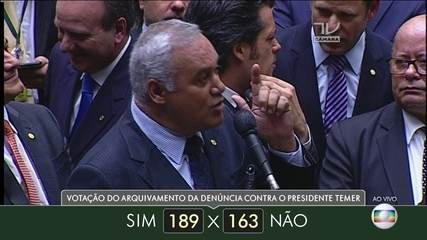 Veja como votaram dos deputados do estado de Minas Gerais