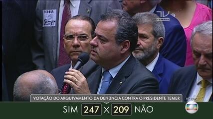 Veja como votaram dos deputados do estado de Pernambuco
