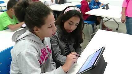 Cresce o uso de tecnologia nas escolas, diz pesquisa