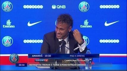 """""""Se precisar, até de goleiro eu jogo"""" diz Neymar sobre gostar de jogar"""