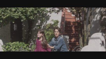Resumo de 4/8: Lucas e Gabriela flagram Alice e Renato juntos