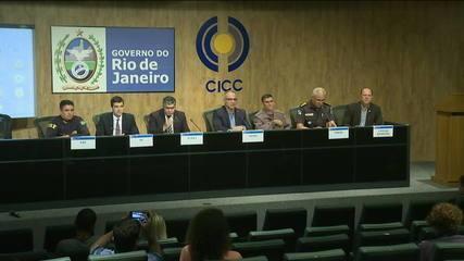 Entrevista coletiva detalha megaoperação contra roubo de cargas e tráfico de drogas no RJ