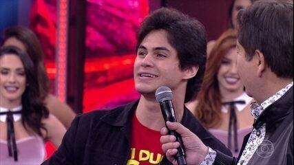 Lucas Veloso está no 'Dança dos Famosos'