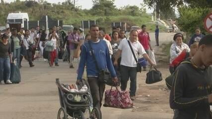 Polícia Federal divulga perfil do imigrante venezuelano que foge da crise no país vizinho