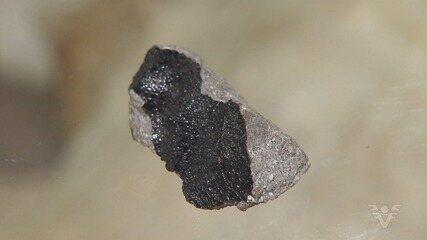 Meteorito 'raríssimo' cai no Brasil e vira objeto de estudo
