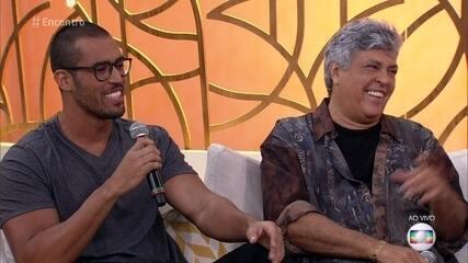 Rodrigo revela que Sidney Magal é um pai tranquilo