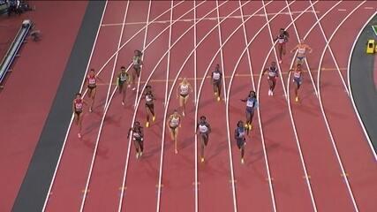 Estados Unidos conquistam o ouro no revezamento 4 x 100m feminino no Mundial de Atletismo