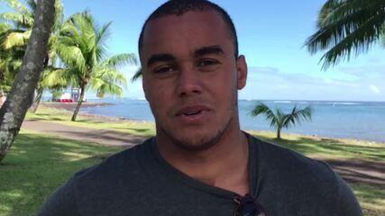 Wiggolly Dantas comenta vitória sobre Mineirinho na 3ª fase no Taiti